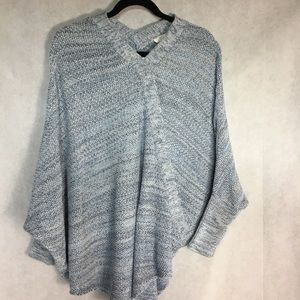 Loft poncho sweater  XS/small